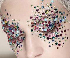 #xmas #nye #new #years #eve #Christmas #stylish #beauty #make #up #style  Beautiful jewel assemble