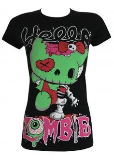 Hello Zombie (HZ T) | Ladies T-Shirt