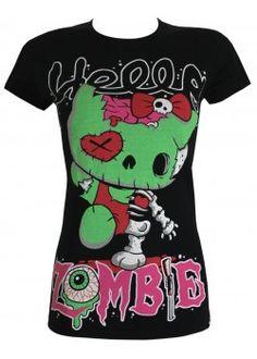 Hello Zombie (HZ T)   Ladies T-Shirt