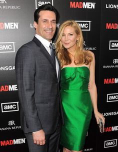 "Jon Hamm and his longtime girlfriend Jennifer Westfeldt are secretly engaged, reveals In Touch. The mag says the couple was recently ""toasting their engagement"" and being ""congratulated"" by friends at L.A.'s Chateau Marmont."