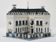 Big lego modular building