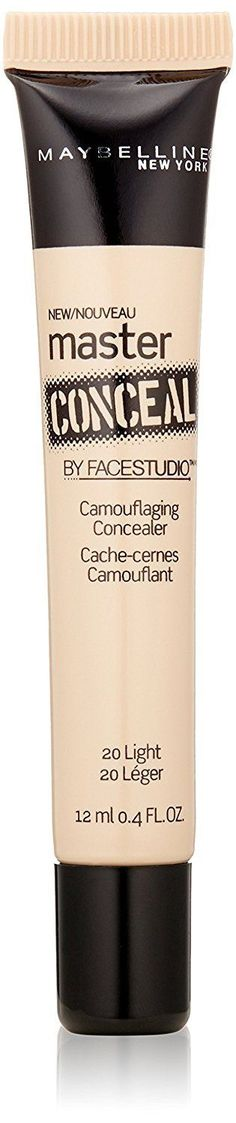 Maybelline Facestudio Master Conceal, Light, Full-coverage and...