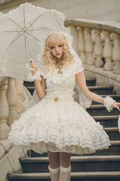 NEU: ☆ ☆ -Das Mädchen am See- 』☆ Jumper D … – Lolita JSK – Best Picture For harajuku mask For Your Taste You are looking for something, and it is going to tell you exactly what you are looking for, and you didn't find[. Harajuku Mode, Harajuku Fashion, Kawaii Fashion, Lolita Fashion, Cute Fashion, Fashion Vintage, Fashion Women, Fashion Ideas, Kawaii Dress