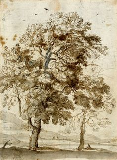 Музей рисунка - Claude Lorrain. Клод Лоррен (1604/5-1682). Графика 1630-1659.