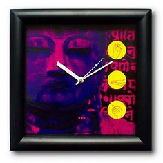 Mad(e) In India #Buddha Wall Clock
