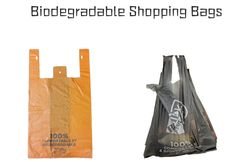 paper bags, reusable bags, and biodegradable bags better for the environment? Biodegradable Plastic, Biodegradable Products, Paper Bags, Plastic Bags, Reusable Bags, Environment, Good Things, Plastic Grocery Bags