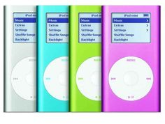 Which you then uploaded to your cool new iPod Mini.