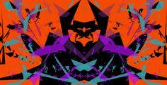 #AlchemyPattern #digital #art #colour #orange #pink #purple #blue #black #design