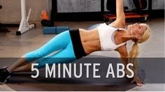 How to Lose Belly Fat: 5 Minute Abs - YouTube