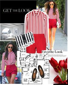"""""""Get the Look : Naya Rivera"""" by mariananogueirabr ❤ liked on Polyvore"""