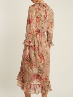 Click here to buy Zimmermann Corsair Ruffle cotton dress at MATCHESFASHION.COM