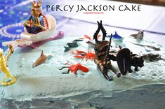 Lots of great ideas percy jackson cake A Book Themed Percy Jackson Birthday Party