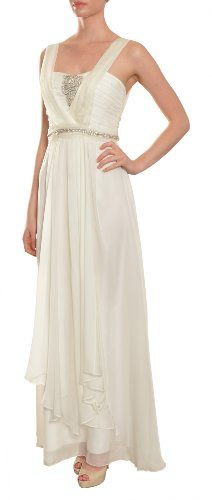 Save $257.00 on A.B.S. by Allen Schwartz Women`s Angelic Pleated Silk Rhinestone Evening Gown; only $208.00