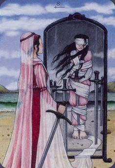 Eight of Swords - Anna.K Tarot by Anna Klaffinger