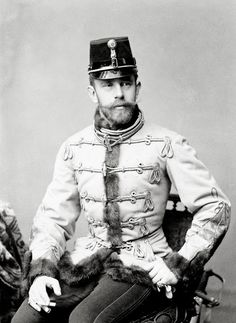THE ARCHDUKE H.I.R.H. Archduke Rudolph, Crown Prince of Austria and Hungary (1858-1889)