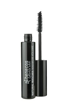 """""""Benecos Maximum Volume Mascara will add fullness and define your eyes. With the added ingredients of natural organic Jojoba Oil creates a smooth texture for fuller natural lashes with no clumping and no flaking. Vitamin E, Natural Mascara, We Make Up, Volume Mascara, Organic Makeup, Vegan Beauty, Beauty Shop, Jojoba Oil, Cool Eyes"""