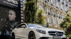 Mercedes-Benz S 63 AMG Coupe auction for amfAR Foundation benefit | RushLane.com