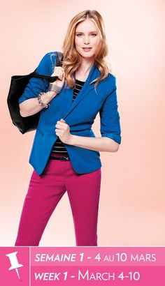 Shop online from Reitmans, Canada's largest women's apparel retailer and leading fashion brand. Buy women's clothing including tops, pants, career clothes and more. Fashion 101, Fashion Brand, Spring Fashion, Fashion Outfits, Pretty Outfits, Cool Outfits, All Is Vanity, Miss Priss, Look Good Feel Good