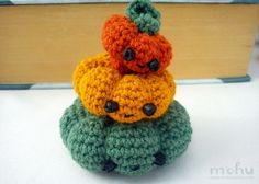 Halloween+Pumpkin+Crochet+Pattern | crochet pumpkin pattern | Halloween / Fall