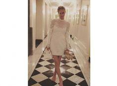 Nicky Hilton compartió con sus seguidores esta foto después de la preboda ¿Qué te parece el vestido? #nickyhiltonwedding