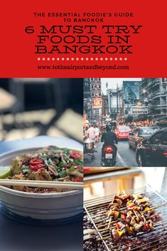 The essential foodie's guide to eating in Bangkok - Check it out! Eat Thai, The Essential, Thai Recipes, Japchae, Street Food, Bangkok, The Good Place, Check, Travel
