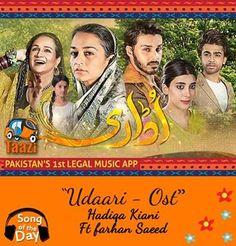 *Song Of The Day* Brand new track by Hadiqa Kiani Ft Farhan Saeed is breaking the internet. Check it out now: http://taazi.com/udaari-ost-by-hadiqa-kiani #FarhanSaeed #UrwaHocane #AhsanKhan #HadiqaKiani