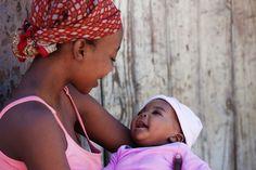 Narodila jsem se a vyrůstala v Keni a na Pobřeží Slonoviny. Od patnácti let jsem žila v Británii. Vždycky jsem však věděla, že chci své děti (až