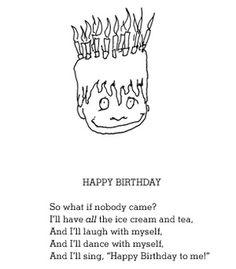 Happy birthday to me-posthumous Shel Silverstein
