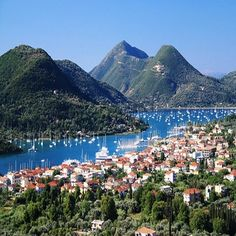 Nydri. Lefkada, Ionian Sea, Greece