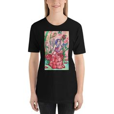 Fairies Prism Color, Ash Color, Online Portfolio, Fabric Weights, Fairies, Illustrator, Shirt Designs, Roses, Fantasy