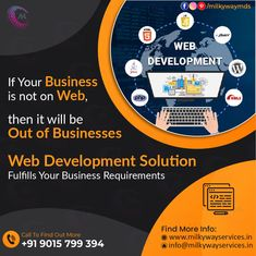 At Milkyway Services, we provide responsive web development services using latest and trending technologies at an affordable price. You can avail our services to enhance your business with a user-friendly and easy navigation website. Call ☎️ at : +91-9015-799-394 . #development #websitedevelopment #webdevelopment #website #websitedesign #webdesign #developer #designing #technology #ecommerce #creative #design #software #softwaredevelopment #startup #business Responsive Web, Ecommerce, Parallax Website, Creative Design, Web Design, Business Requirements, Software Development, How To Find Out, Technology