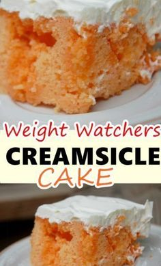 WMF Cutlery And Cookware - One Of The Most Trustworthy Cookware Producers Creamsicle Cake Weight Watchers Recipes Weight Watcher Desserts, Weight Watchers Snacks, Weight Watchers Meal Plans, Skinny Recipes, Ww Recipes, Low Carb Recipes, Cake Recipes, Burger Recipes, Dessert Recipes