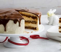 Milk Chocolate & Salted Caramel Tiramisu: Perfect for an after-dinner dessert or afternoon tea!. http://www.bakers-corner.co.nz/recipes/cakes/milk-chocolate-salted-caramel-tiramisu/