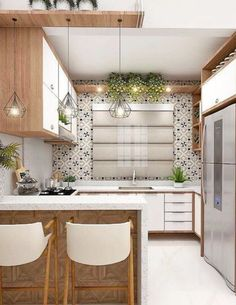 35 Suprising Small Kitchen Design Ideas And Decor ⋆ talkinggamesnet The post 35 suprising small kitchen design ideas and decor 20 appeared first on Best Pins for Yours - Kitchen Decoration Cosy Kitchen, Home Decor Kitchen, Interior Design Kitchen, Kitchen Furniture, Kitchen Ideas, Kitchen Inspiration, Kitchen Small, Modern Interior, 10x10 Kitchen
