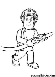 feuerwehrmann sam malvorlagen … | pinteres…