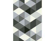 Tapis poils ras motif fantaisie 160x230cm MADRID coloris blanc et gris Conforama 119€