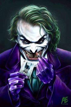 The Joker | lipstick, anyone?