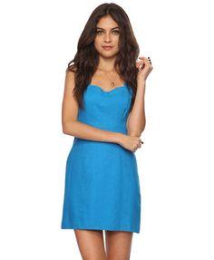 Sweetheart Sleeveless Dress