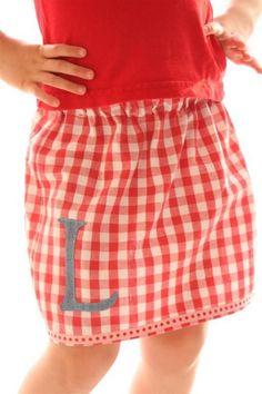 Very Cute and Very Easy Skirt Tutorial