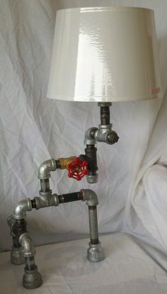 Pipe Lamp by Mandecor on Etsy, $149.00