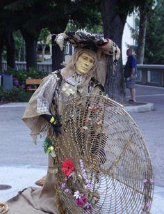 Mimes at festival of Mirabilia #festivals #events #piemonte #italy #provinciadicuneo