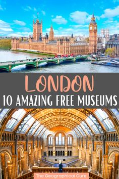 Guide to the Best Free Museums In London England Tate Museum London, London Museums, London Travel, Travel Uk, Travel Tips, London Must See, London Attractions, Free Museums, Parthenon