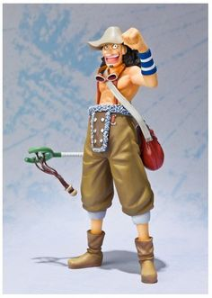 Figura One Piece. Usopp, 16 cms Figura de 16 cms Usopp, el tirador de la tripulación en el manga y anime One Piece.
