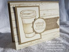 Perfect Blend and Hardwood stamps… Stampin' Up!® - Stamp Your Art Out! www.stampyourartout.com