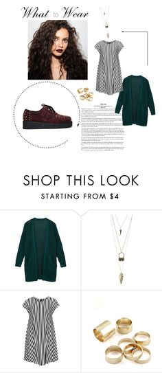 """""""Untitled #378"""" by lo2lo2a ❤ liked on Polyvore featuring Charlotte Russe and Choise"""