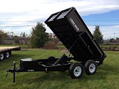 Bri-Mar LE Series dump trailers are designed for regular commercial work. The LE Series is built to get the job done. Tilt Trailer, Deck Over, Equipment Trailers, Steel Deck, Dump Trailers, Compact Tractors, Landscape Materials, Heavy Equipment, Building Design