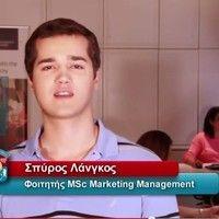Mediterranean College: Spyros Langkos - Live The MC Experience Derby, Management, College, Marketing, Live, University, Colleges