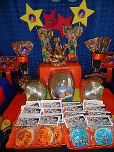 1000 images about dragonball z birthday party ideas for Dragon ball z decorations