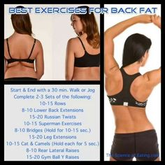 Exercise for Back Fat