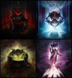 gods of Chaos by baklaher on DeviantArt